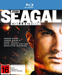 Steven Seagal Collection on Blu-ray image