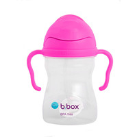 B.Box: Sippy Cup V2 - Neon Pink Pomegranate