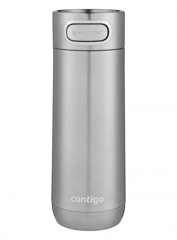 Contigo: Luxe Autoseal Mug - Stainless Steel (473ml)