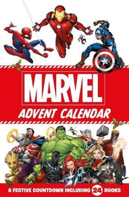 Marvel: 2019 Advent Calendar 24-Book Set image