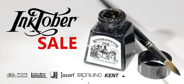 Inktober Sale!