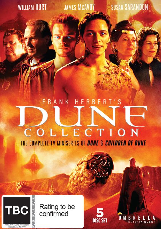 Frank Herbert's Dune Collection on DVD