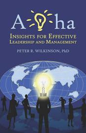 AHA by PhD Peter R. Wilkinson image