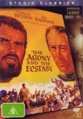 Agony And The Ecstasy, The (Studio Classics) on DVD