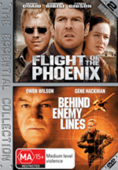 Flight Of The Phoenix / Behind Enemy Lines - The Essential Collection (2 Disc Set) on DVD