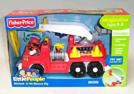 Fisher Price Michael's Rescue Rig