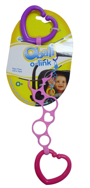 Oball: On the Go Link - Pink