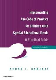 Implementing the Code of Practice for Children with Special Educational Needs, Second Edition by Ahmad F. Ramjhun image