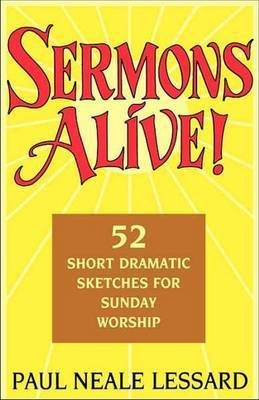 Sermons Alive! by Paul Neale Lessard image