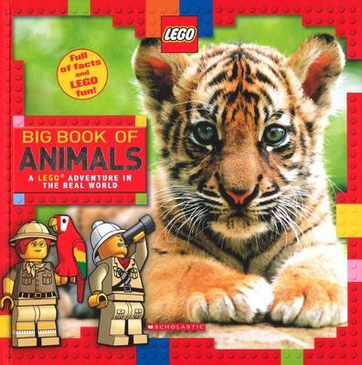 LEGO: Big Book of Animals by Scholastic