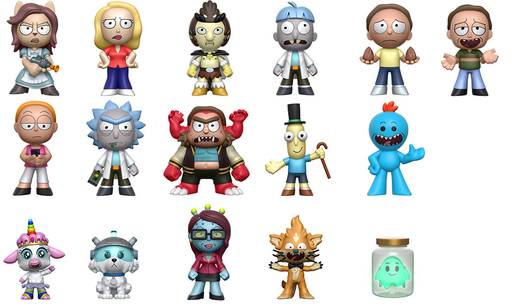 Rick And Morty Series 1 Mystery Minis Figure At