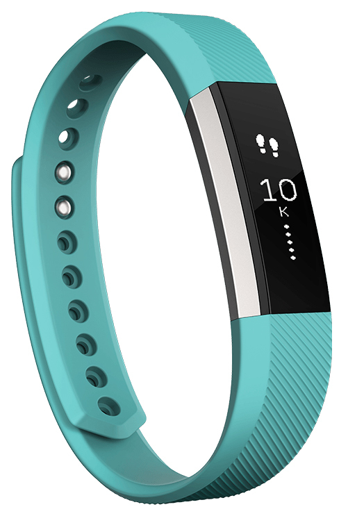 Fitbit Alta Fitness Tracker Wristband - Teal (Small) image