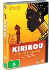 Kirikou And The Sorceress on DVD