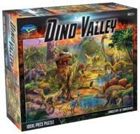 Holdson: 100XL Piece Puzzle - Landscape of Dinosaurs