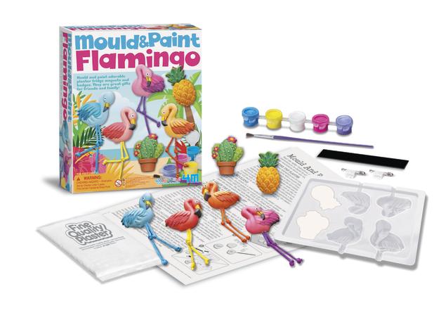 4M: Mould & Paint Flamingos Craft Kit