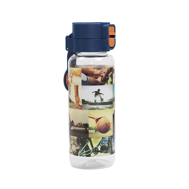 Spencil: Sports Collage Water Bottle