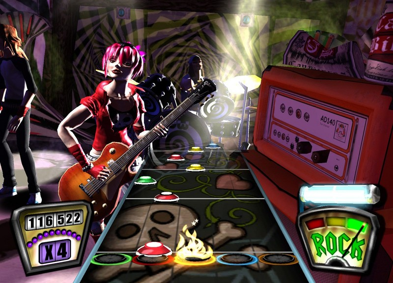 Guitar Hero II (includes guitar) for Xbox 360 image