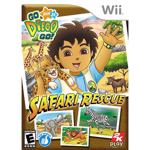 Go Diego Go!: Safari Rescue for Nintendo Wii