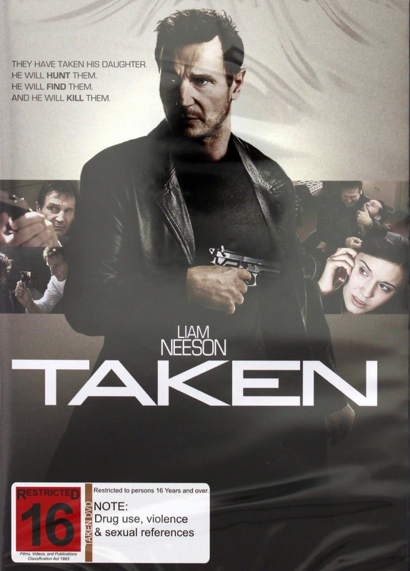 Taken on DVD