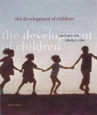 The Development of Children by Michael Cole image