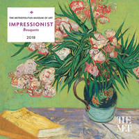 Impressionist Bouquets 2018 Mini Wall Calendar by The Metropolitan Museum of Art