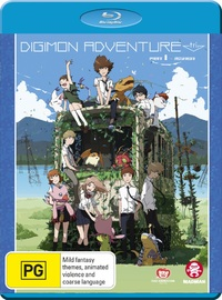 Digimon Adventure Tri. Part 1 - Reunion on Blu-ray