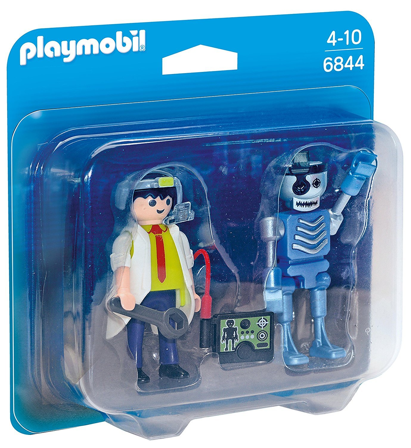 Playmobil: Scientist with Robot Duo Pack image