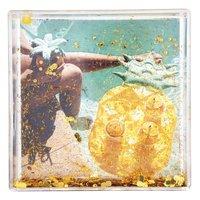 Sunnylife Glitter Frame Square - Pineapple