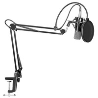 Pro Studio - Professional Studio Broadcasting with Mounting Arm