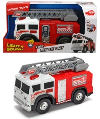 Dickie Toys: Fire Rescue Unit - Lights & Sounds Vehicle