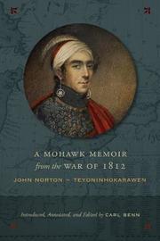 A Mohawk Memoir from the War of 1812
