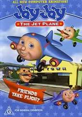 Jay Jay The Jet Plane - Friends Take Flight on DVD