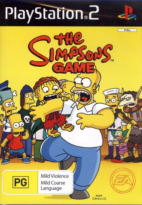 The Simpsons Game for PlayStation 2