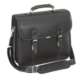 """Targus Leather Messenger Fits Up To 15.4"""""""