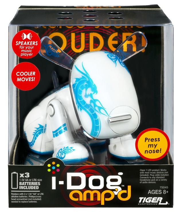 I-Dog Amp'd - Blue Dragon