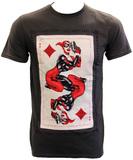 DC Comics Harley Quinn Card T-Shirt (X-Large)
