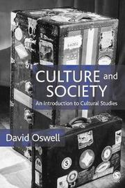 Culture and Society by David Oswell image