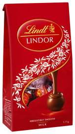 Lindt: Lindor Milk Chocolate Bag (125g)