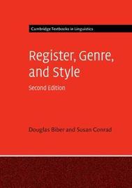 Cambridge Textbooks in Linguistics by Douglas Biber