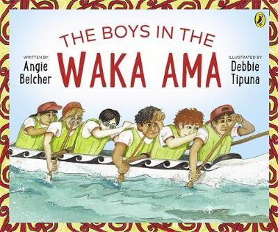 The Boys in the Waka Ama by Angie Belcher