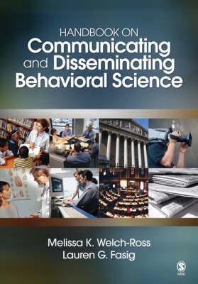 Handbook on Communicating and Disseminating Behavioral Science