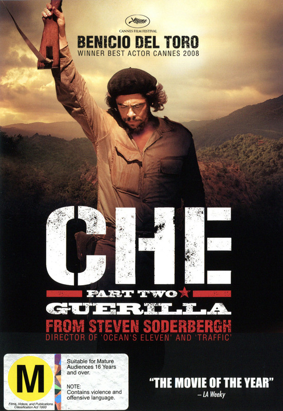 Che: Part 2 on DVD
