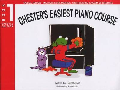 Chester's Easiest Piano Course - Book 1 (Special Edition) by Ch73425