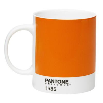 Pantone: Bone China Mug - Orange 1585