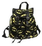Batman: Toss Print - Black Strap Backpack