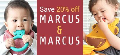 20% off Marcus & Marcus!