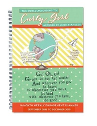 The World According to Curly Girl 2019 A5 Diary