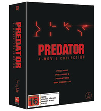 Predator 1-4 Boxset on DVD
