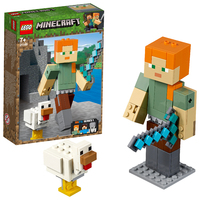 LEGO Minecraft - Alex BigFig with Chicken (21149)