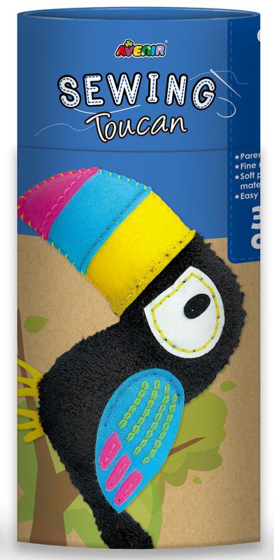 Avenir: Sewing Doll Kit - Toucan